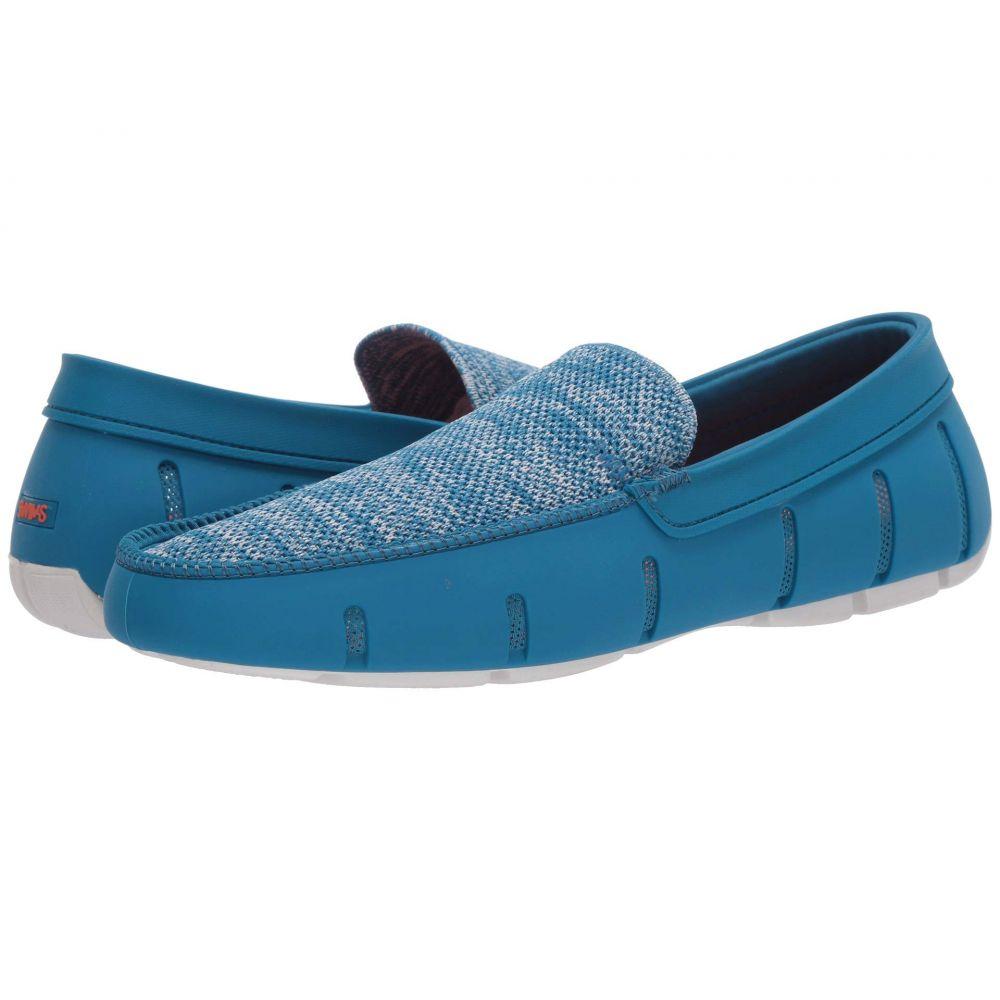 スウィムス SWIMS メンズ ローファー シューズ・靴【Classic Venetian Loafer】Turkish Tile/White