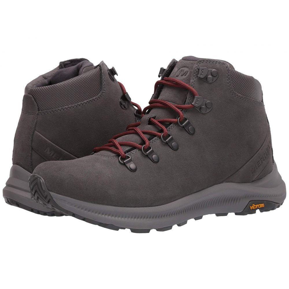 メレル Merrell メンズ ハイキング・登山 シューズ・靴【Ontario Suede Mid】Charcoal