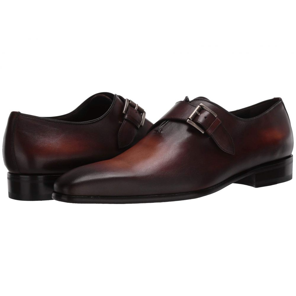 マッテオ マッシモ Massimo Matteo メンズ 革靴・ビジネスシューズ シューズ・靴【Almansa Single Monk】Castano