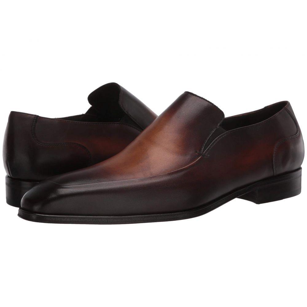 マッテオ マッシモ Massimo Matteo メンズ スリッポン・フラット シューズ・靴【Almansa Slip-On】Castano