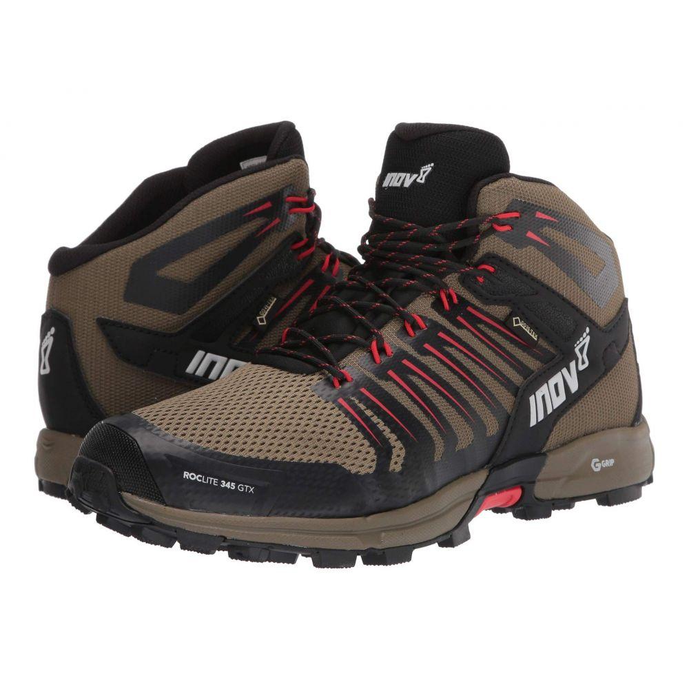 イノヴェイト inov-8 メンズ ハイキング・登山 シューズ・靴【Roclite(TM) 345 GTX】褐色/赤