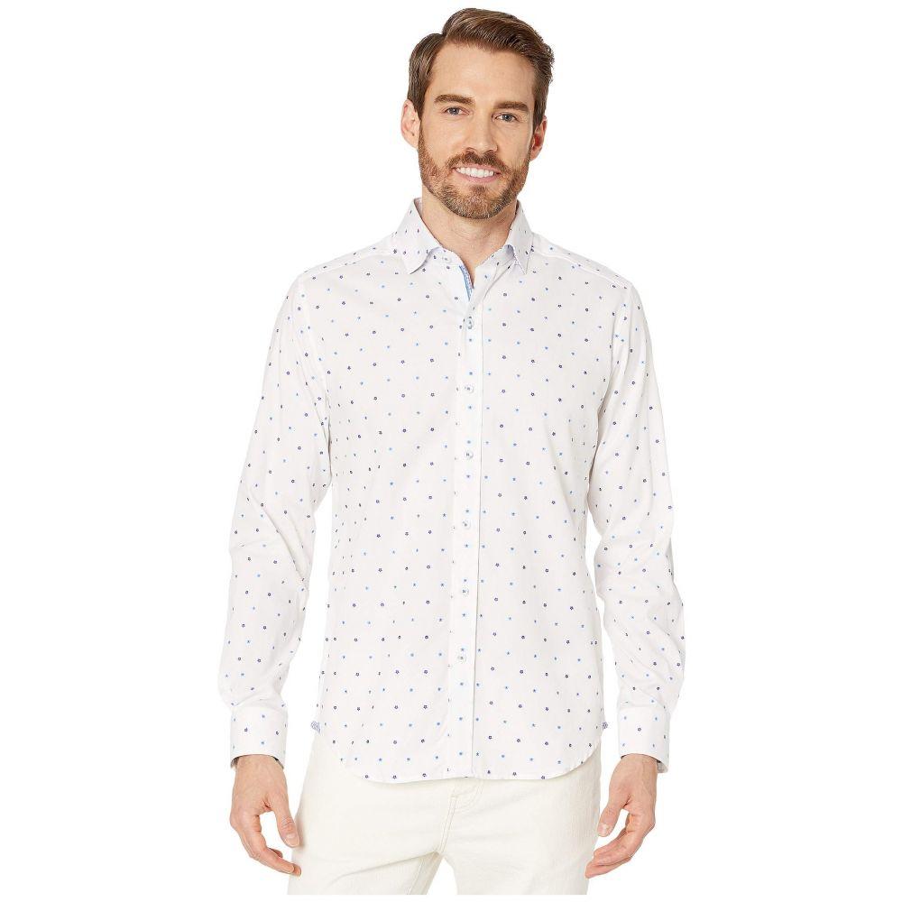 ロバートグラハム Robert Graham メンズ シャツ トップス【Caberto Tailored Fit Sport Shirt】White