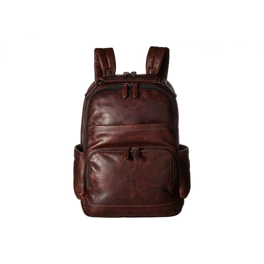 フライ メンズ バッグ バックパック・リュック Dark Brown Antique Pull Up 【サイズ交換無料】 フライ Frye メンズ バックパック・リュック バッグ【Logan Backpack】Dark Brown Antique Pull Up