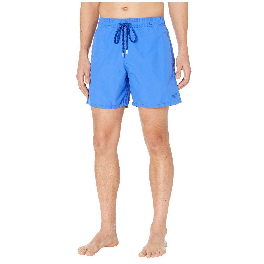 ヴィルブレクイン Vilebrequin メンズ 海パン 水着・ビーチウェア【Aquareactive Crabs Moorea Swim Trunks】Royal Blue