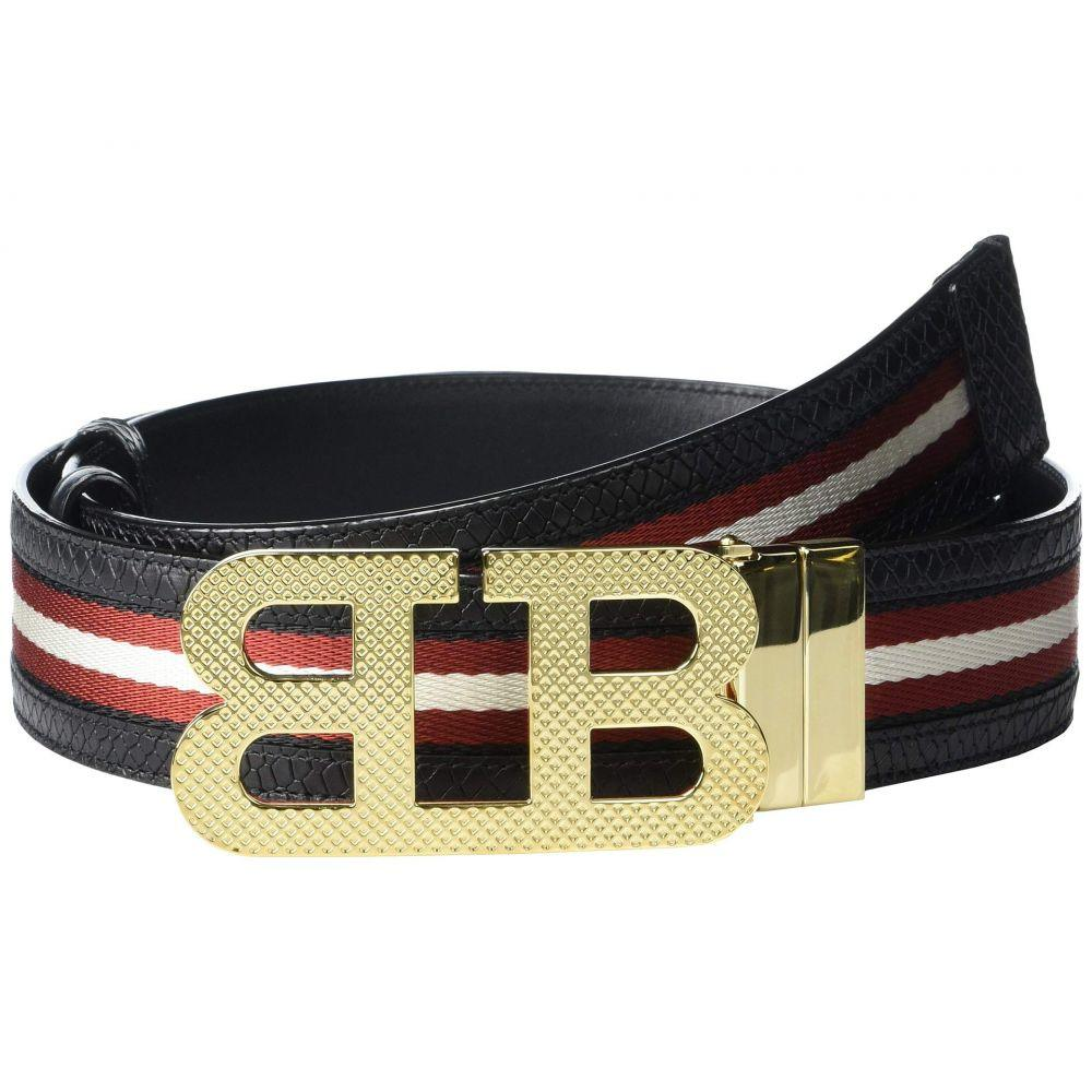 バリー Bally メンズ ベルト 【Mirror B 40 M.TSP Belt】White