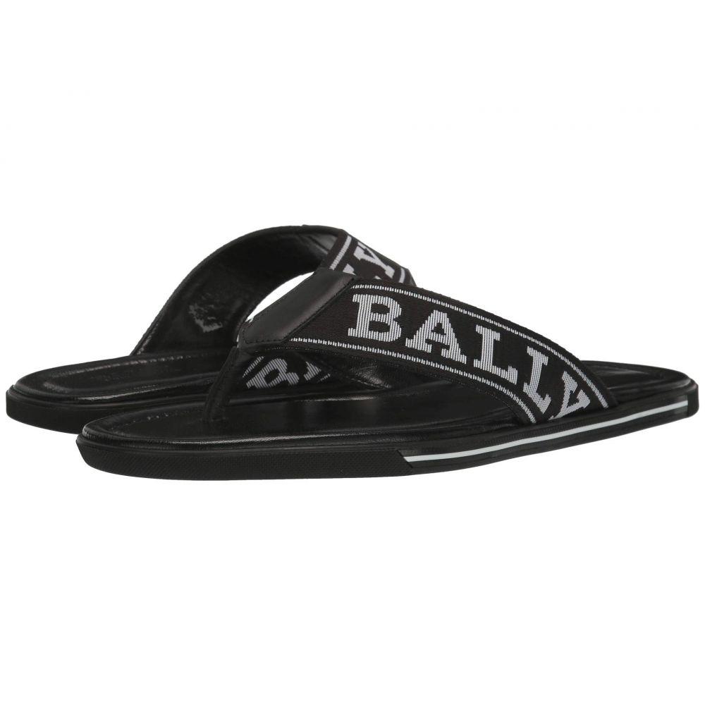 バリー Bally メンズ ビーチサンダル シューズ・靴【Border-T/200】Black/White