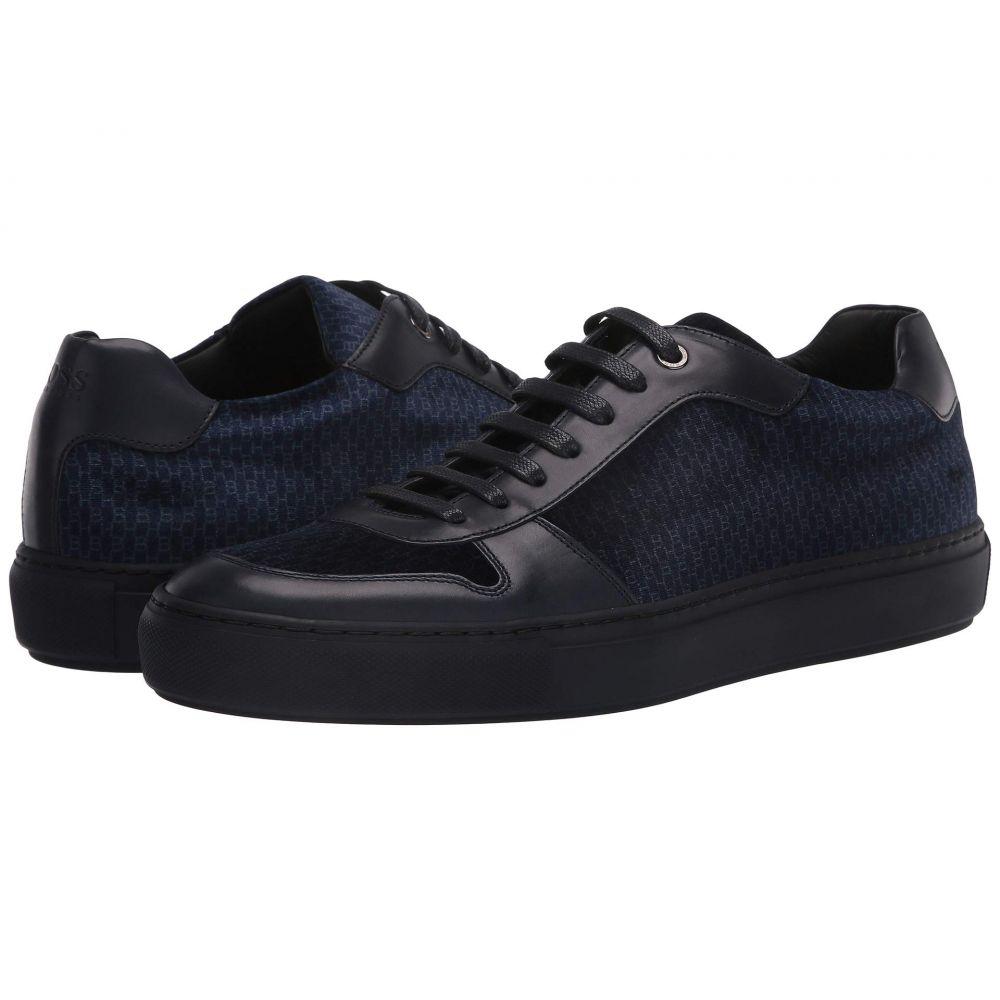 ヒューゴ ボス BOSS Hugo Boss メンズ スニーカー ローカット シューズ・靴【Mirage Low Top Velvet Sneaker by BOSS】Dark Blue