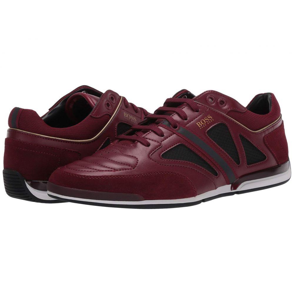 ヒューゴ ボス BOSS Hugo Boss メンズ スニーカー ローカット シューズ・靴【Saturn Low Top Leather Sneaker by BOSS】Dark Red