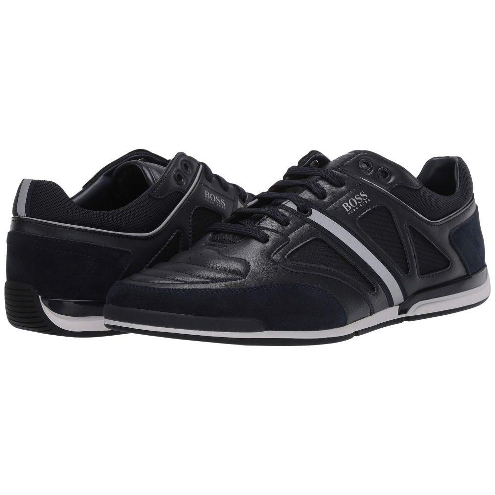 ヒューゴ ボス BOSS Hugo Boss メンズ スニーカー ローカット シューズ・靴【Saturn Low Top Leather Sneaker by BOSS】Dark Blue