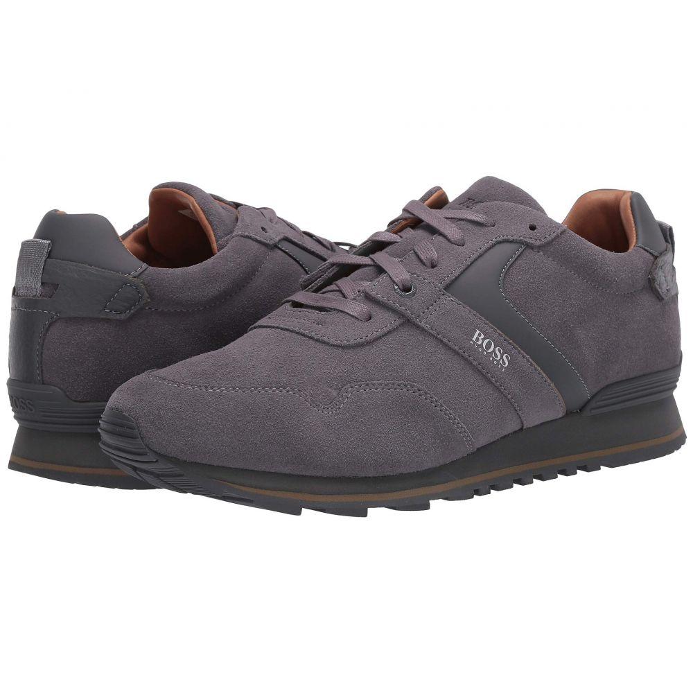 ヒューゴ ボス BOSS Hugo Boss メンズ スニーカー ローカット シューズ・靴【Parkour Low Top Sneaker by BOSS】Medium Grey
