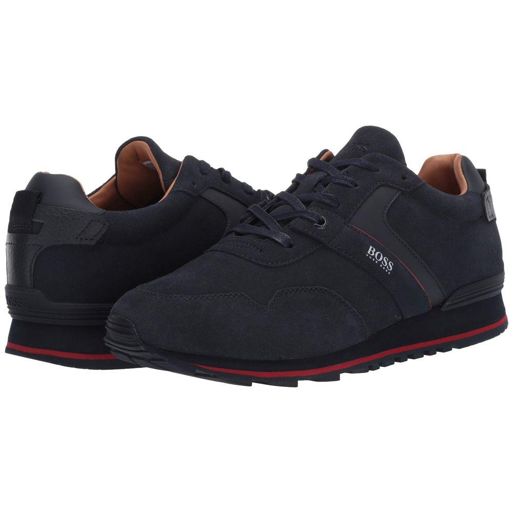 ヒューゴ ボス BOSS Hugo Boss メンズ スニーカー ローカット シューズ・靴【Parkour Low Top Sneaker by BOSS】Dark Blue