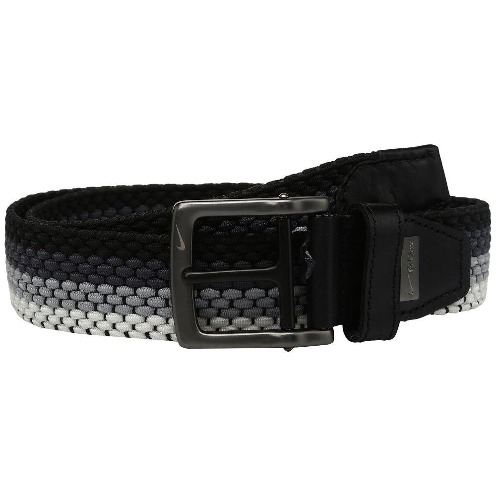 ナイキ Nike メンズ ベルト 【Stretch Woven】Black/Wolf Grey