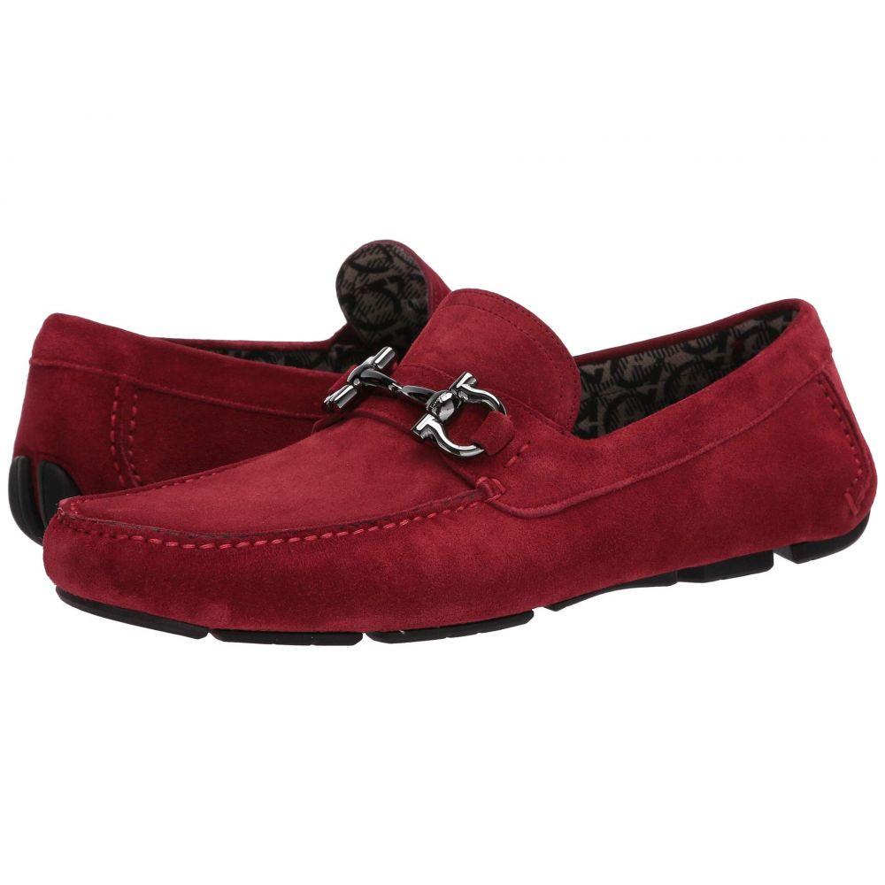 サルヴァトーレ フェラガモ Salvatore Ferragamo メンズ ローファー シューズ・靴【Parigi 20 Driver】Ferragamo Red