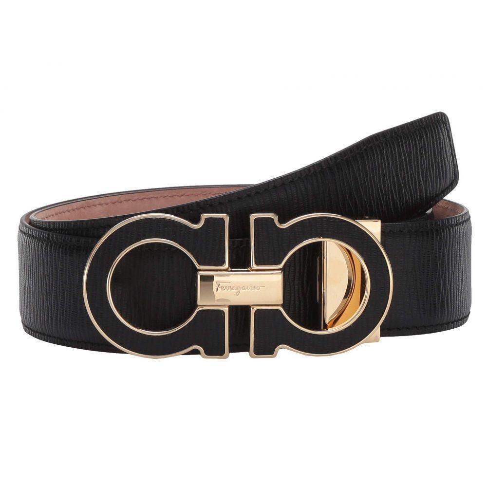 サルヴァトーレ フェラガモ Salvatore Ferragamo メンズ ベルト 【Adjustable Belt - 67A160】Black