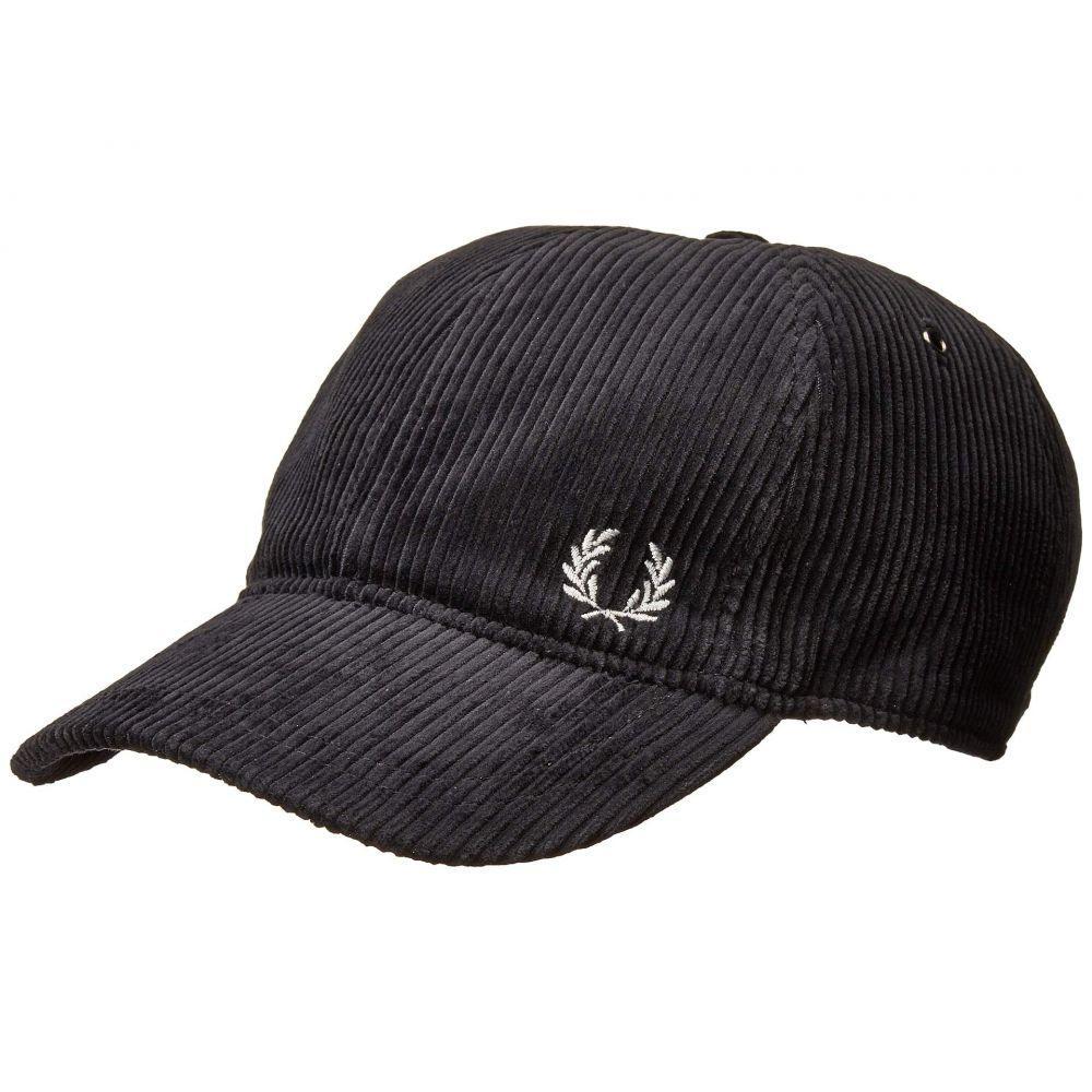 フレッドペリー Fred Perry メンズ キャップ 帽子【Cord Cap】Black