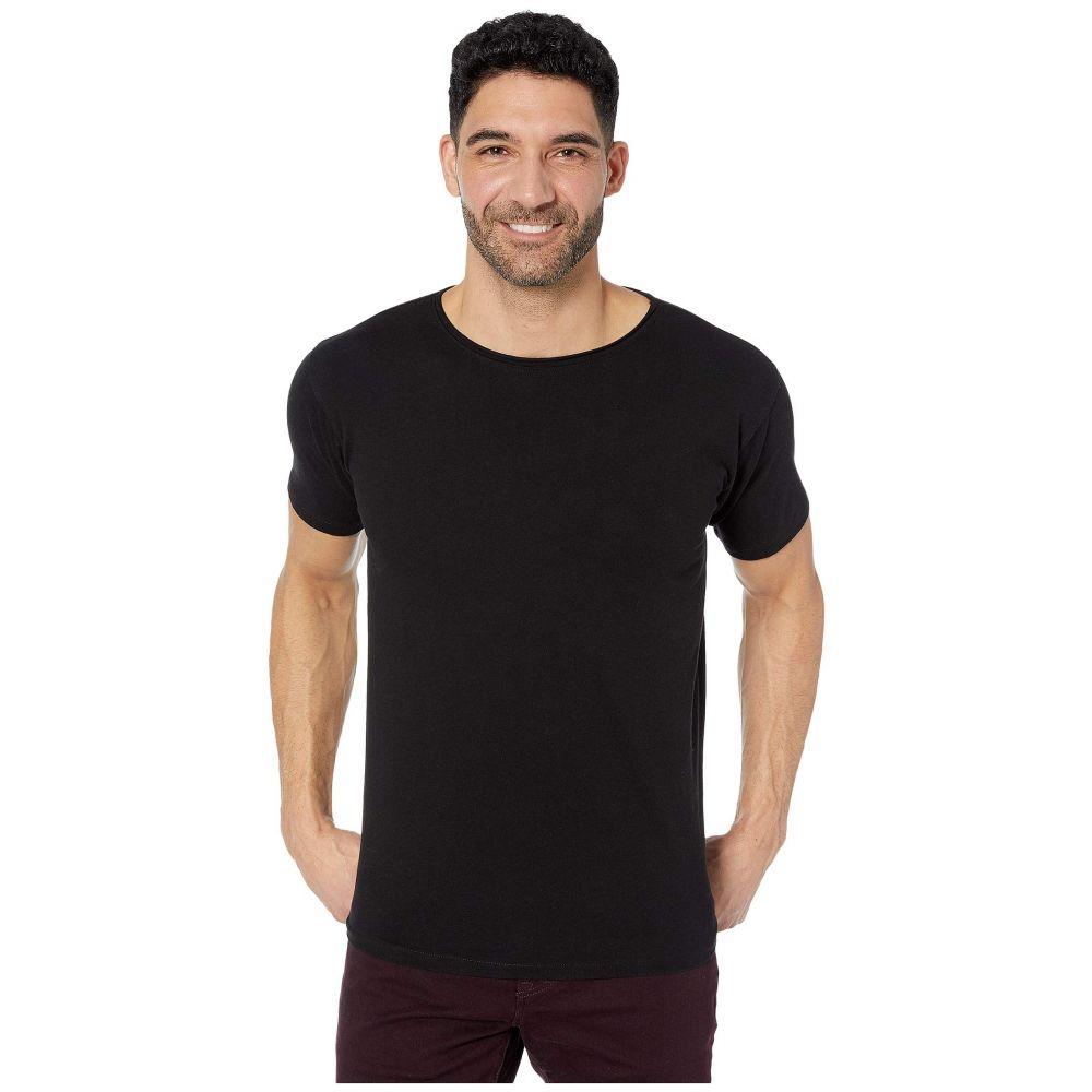 スコッチ&ソーダ Scotch & Soda メンズ Tシャツ トップス【Organic T-Shirt with Subtle Styling Details】Black