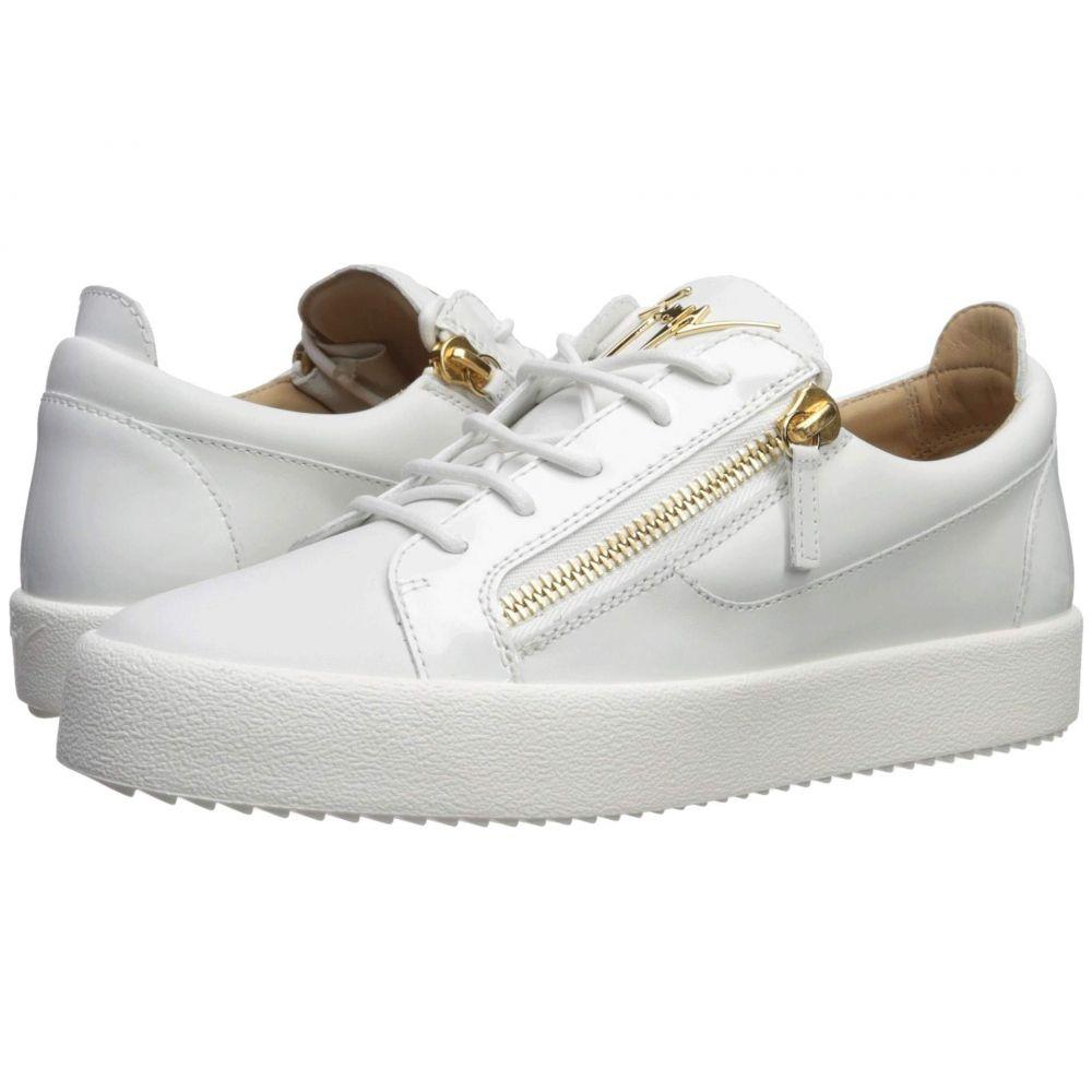 ジュゼッペ ザノッティ Giuseppe Zanotti メンズ スニーカー ローカット シューズ・靴【May London Textured Low Top Sneaker】Bianco