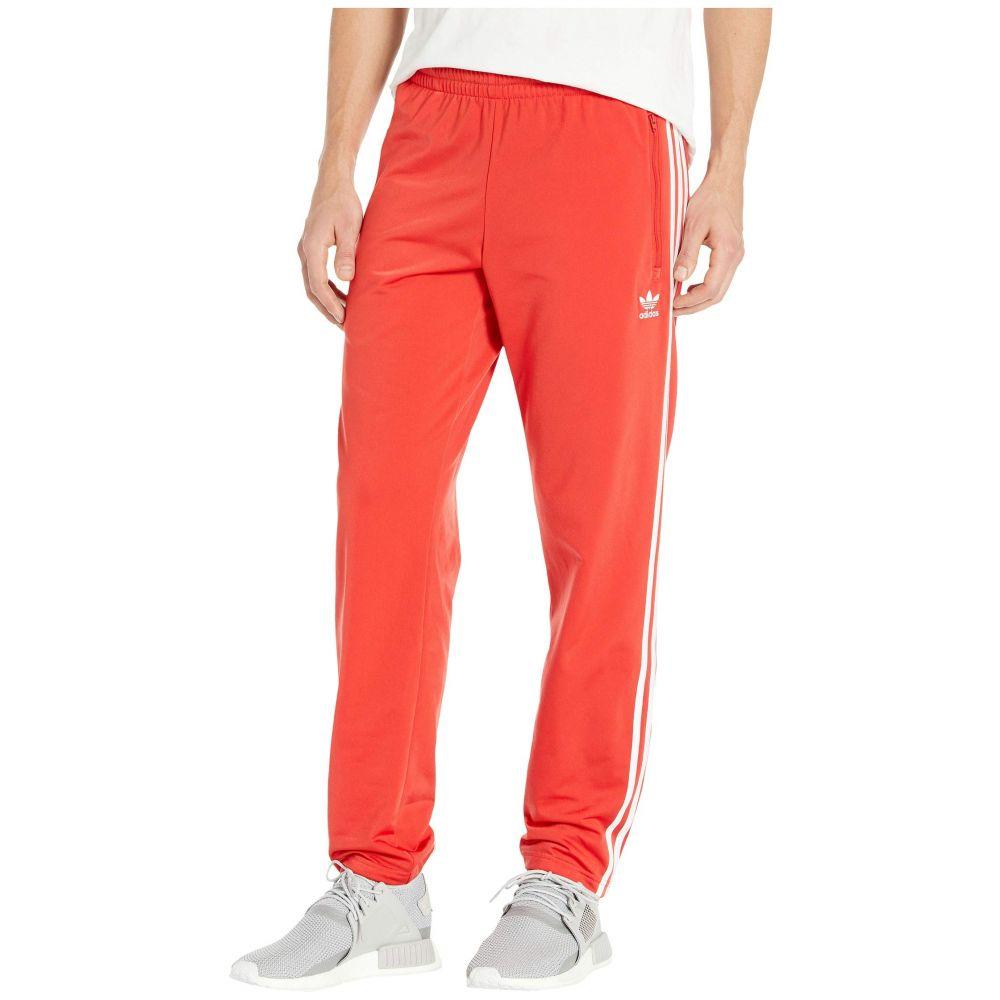 アディダス adidas Originals メンズ スウェット・ジャージ ボトムス・パンツ【Firebird Track Pants】Lush Red