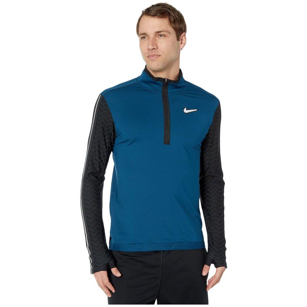 ナイキ Nike メンズ トップス 【Wild Run Element Top Long Sleeve】Valerian Blue/Black/Reflective Silver