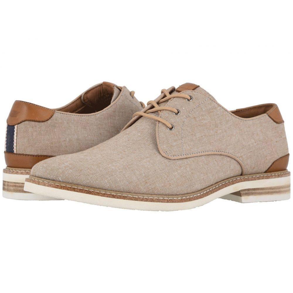 フローシャイム Florsheim メンズ 革靴・ビジネスシューズ シューズ・靴【Highland Canvas Plain Toe Oxford】Sand Canvas/White Sole