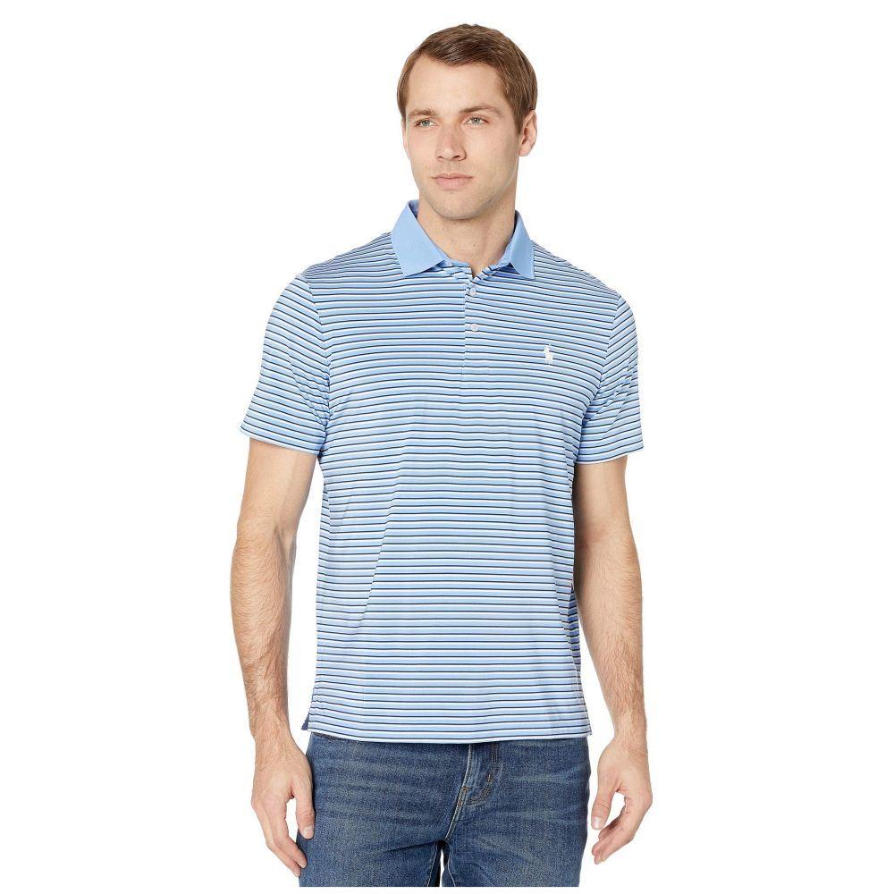 ラルフ ローレン Polo Ralph Lauren メンズ ポロシャツ 半袖 トップス【Short Sleeve Performance Polo】Cabana Blue Multi