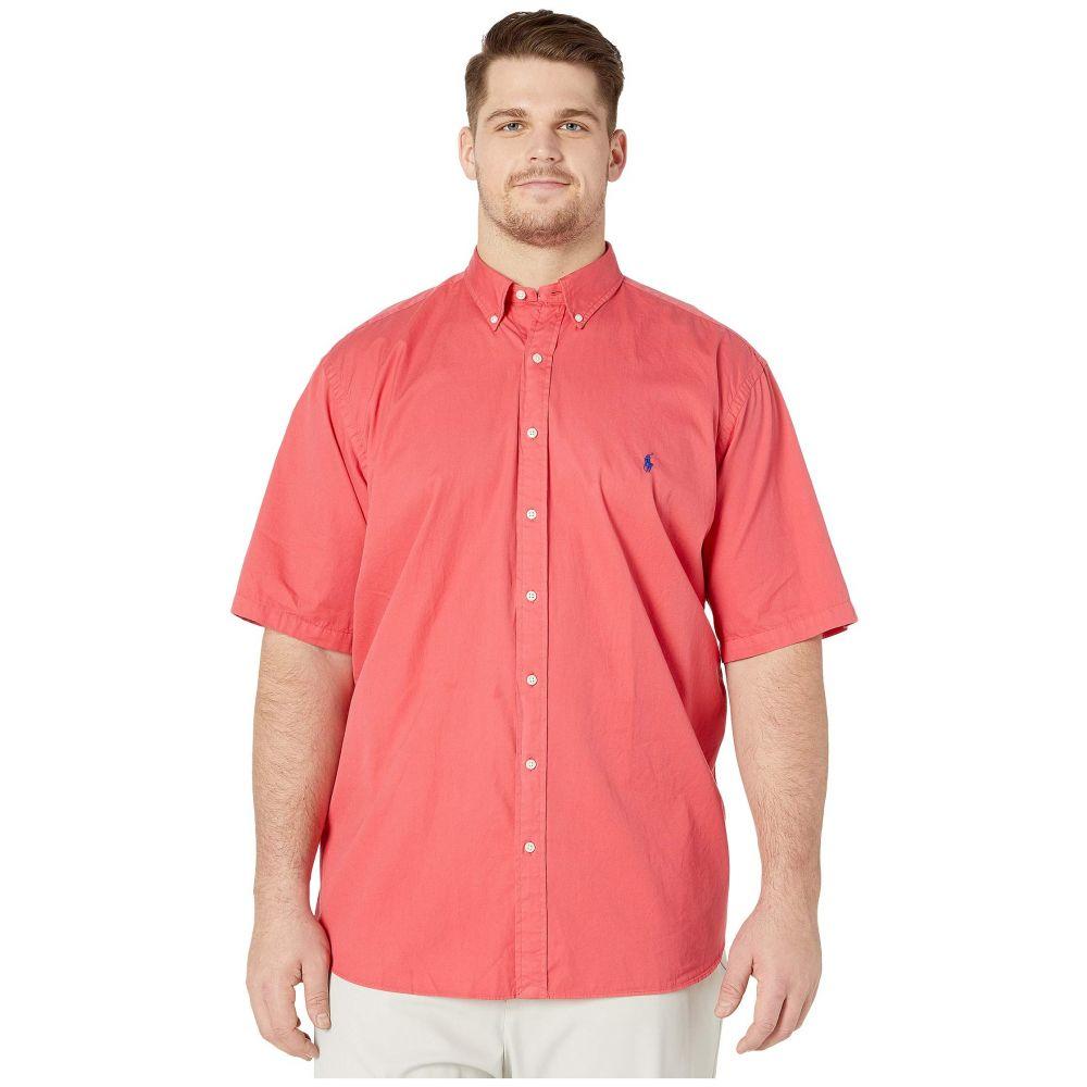 ラルフ ローレン Polo Ralph Lauren Big & Tall メンズ 半袖シャツ 大きいサイズ トップス【Big & Tall Short Sleeve Garment Dyed Chino Shirt】Cactus Flower