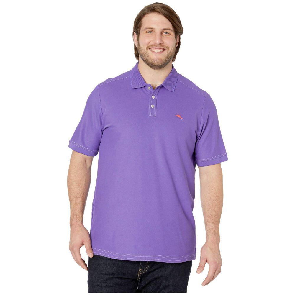 トミー バハマ Tommy Bahama Big & Tall メンズ ポロシャツ 大きいサイズ トップス【Big & Tall Emfielder 2.0 Polo】Spring Purple