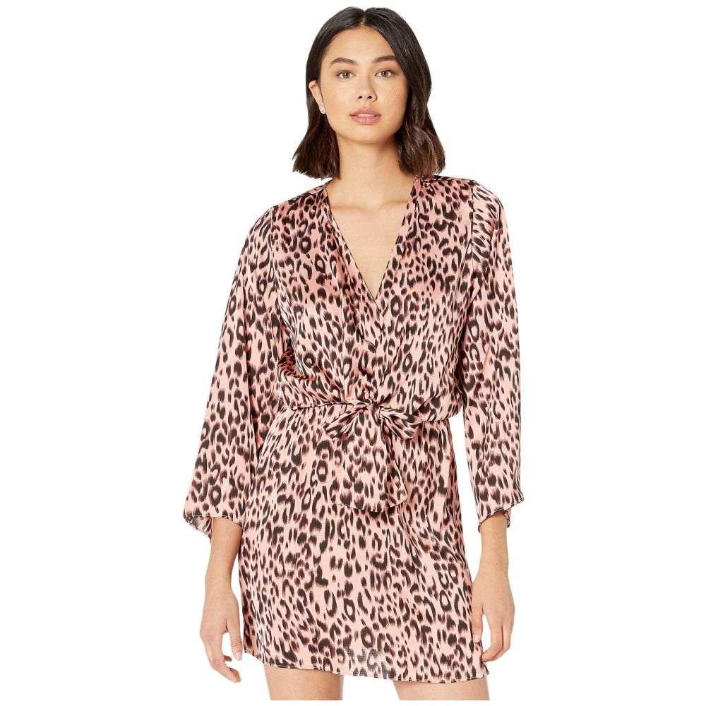 ビショップアンドヤング Bishop + Young レディース ワンピース ワンピース・ドレス【Sydney Knot Front Dress】Leopard