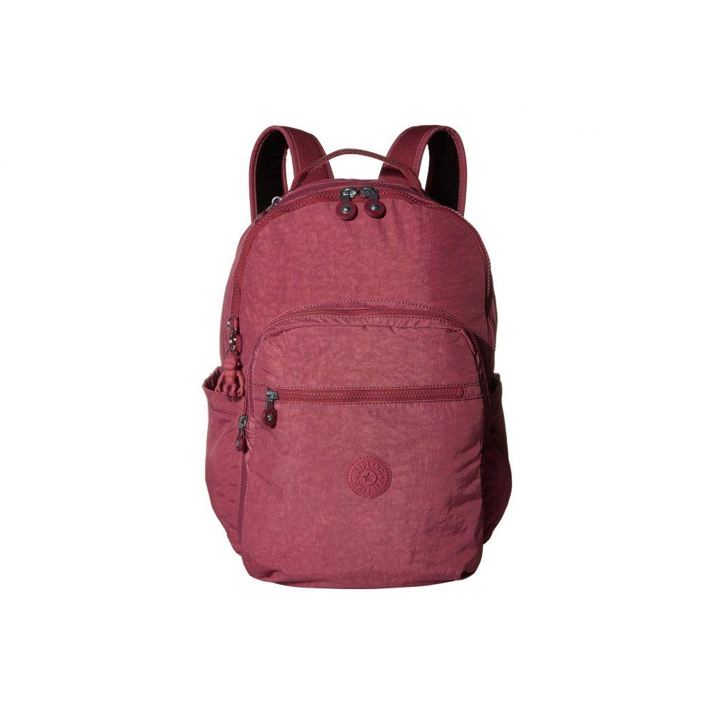 キプリング Kipling レディース パソコンバッグ バックパック バッグ【Seoul Laptop Backpack】Fig Purple