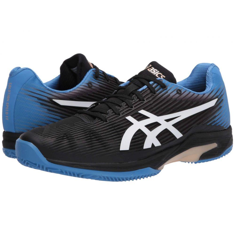 アシックス ASICS メンズ テニス シューズ・靴【Solution Speed Clay】Black/Blue Coast