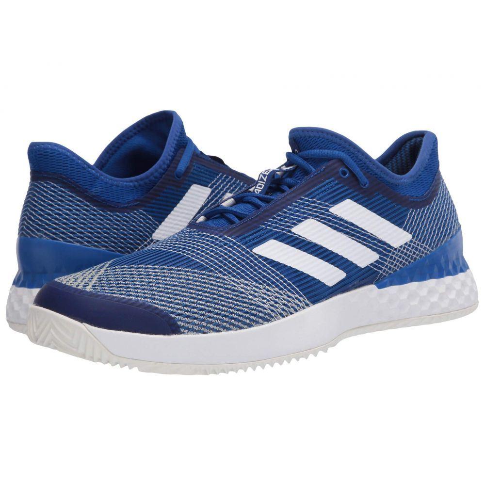 アディダス adidas メンズ テニス シューズ・靴【Adizero Ubersonic 3 Clay】Team Royal Blue/Footwear White/Off-White