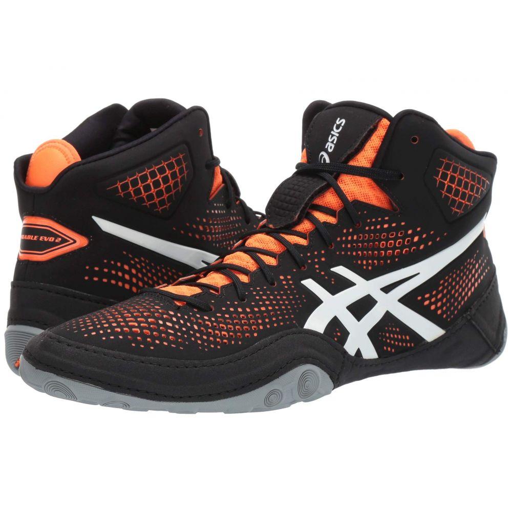 アシックス ASICS メンズ スニーカー シューズ・靴【Dan Gable Evo 2】Black/Shocking Orange