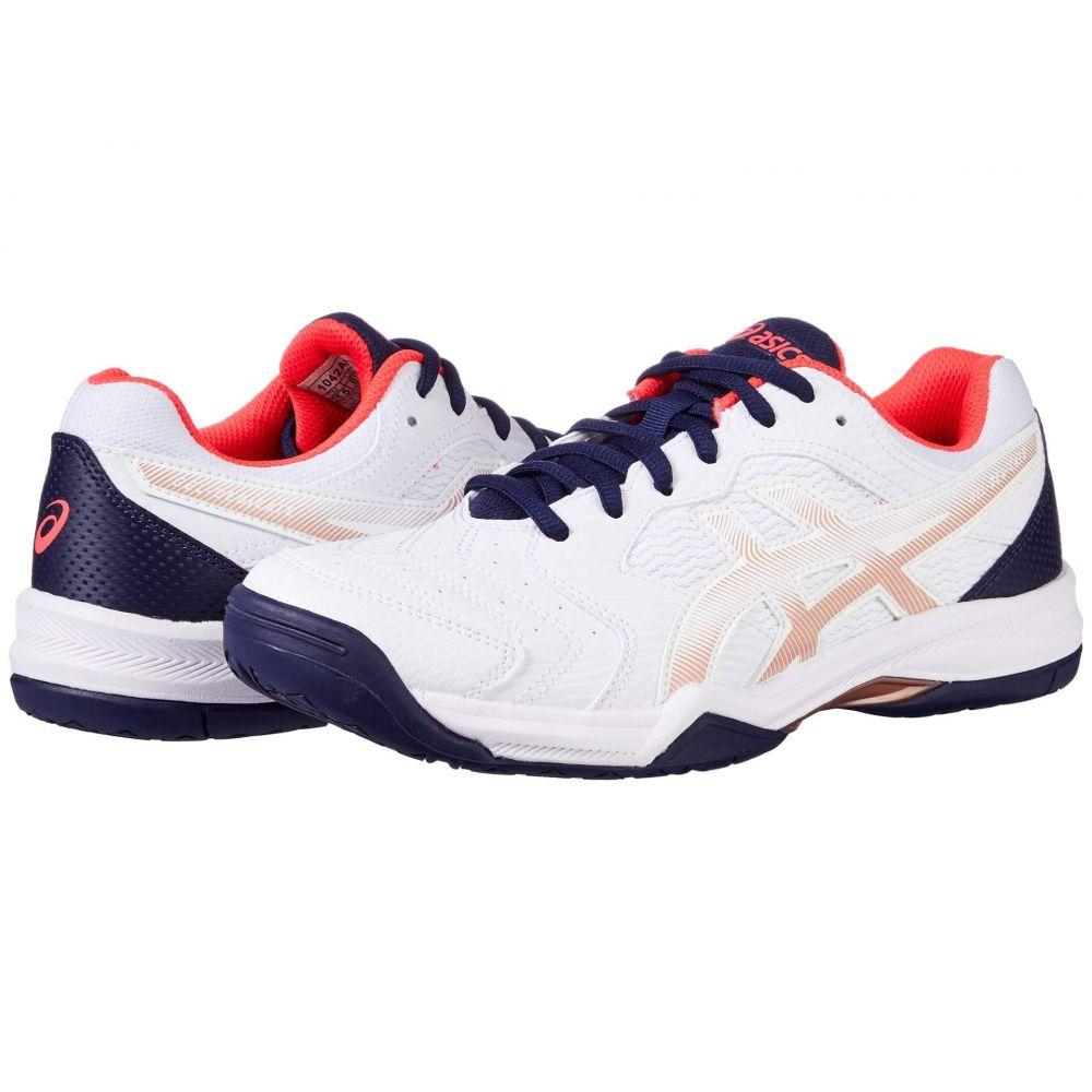 アシックス ASICS レディース テニス シューズ・靴【GEL-Dedicate 6】White/White