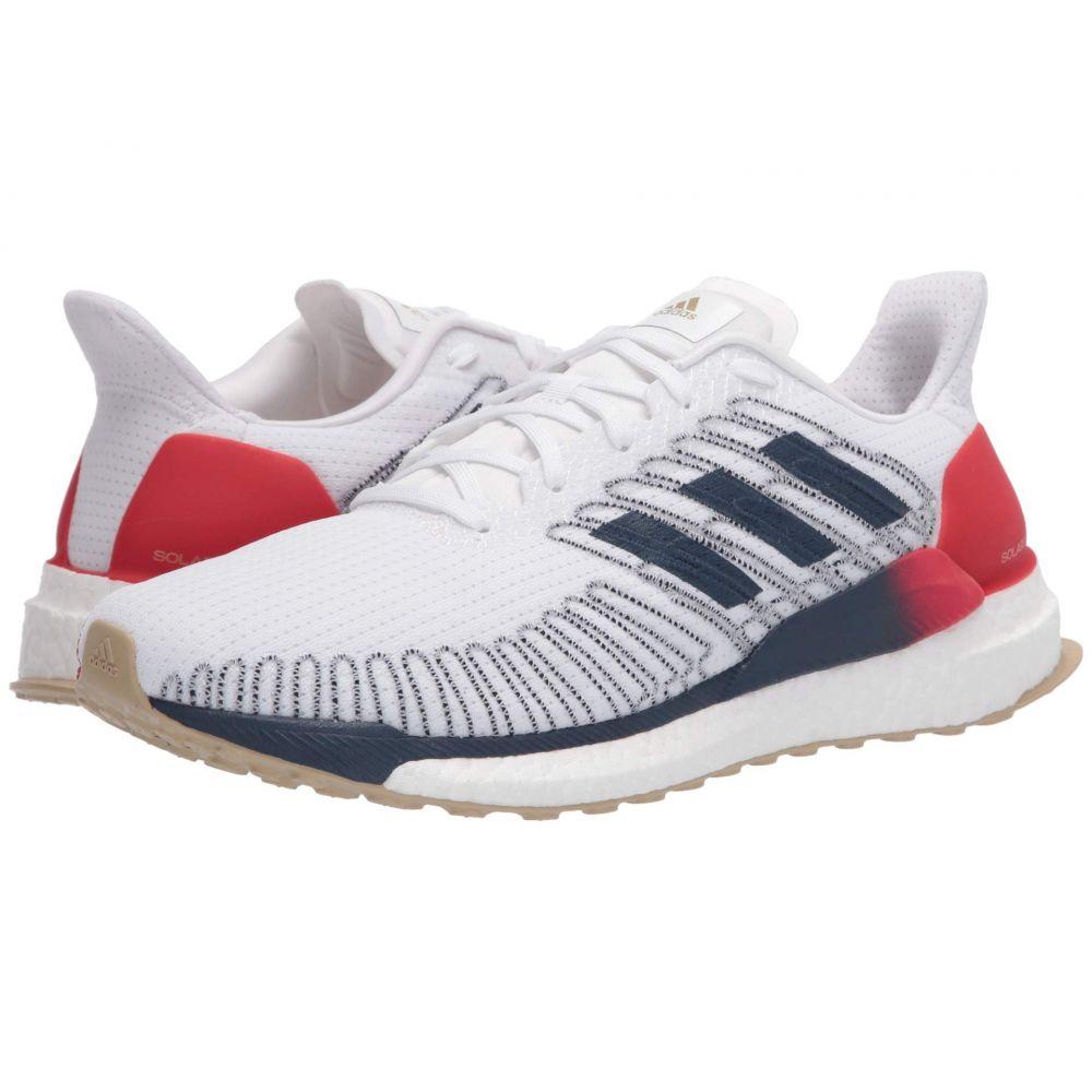 アディダス adidas Running メンズ ランニング・ウォーキング シューズ・靴【Solar Boost 19】Footwear White/Tech Indigo/Scarlet