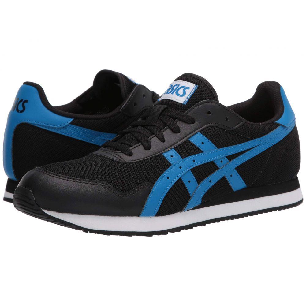 アシックス ASICS Tiger メンズ スニーカー シューズ・靴【Tiger Runner】Black/Electric Blue