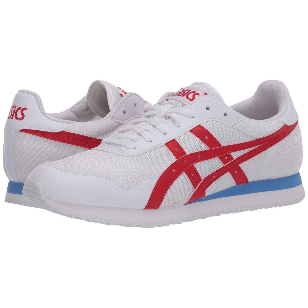 アシックス ASICS Tiger メンズ スニーカー シューズ・靴【Tiger Runner】White/Classic Red