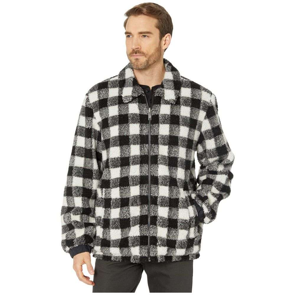 アグ UGG メンズ ジャケット アウター【Mace Reversible Faux-Sherpa Jacket】Black Plaid