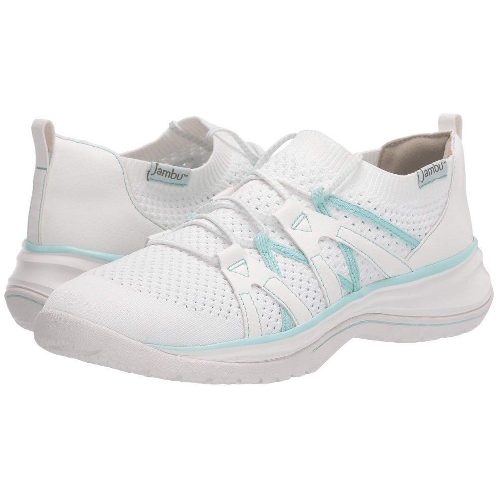 ジャンブー Jambu レディース スニーカー シューズ・靴【Jardin】White/Mint