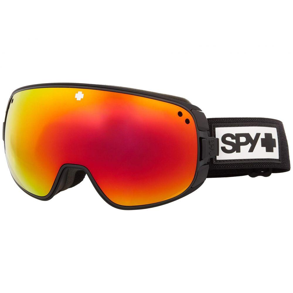 スパイ Spy Optic レディース ゴーグル【Bravo】Matte Black HD Plus Bronze w/Red Spectra Mirror