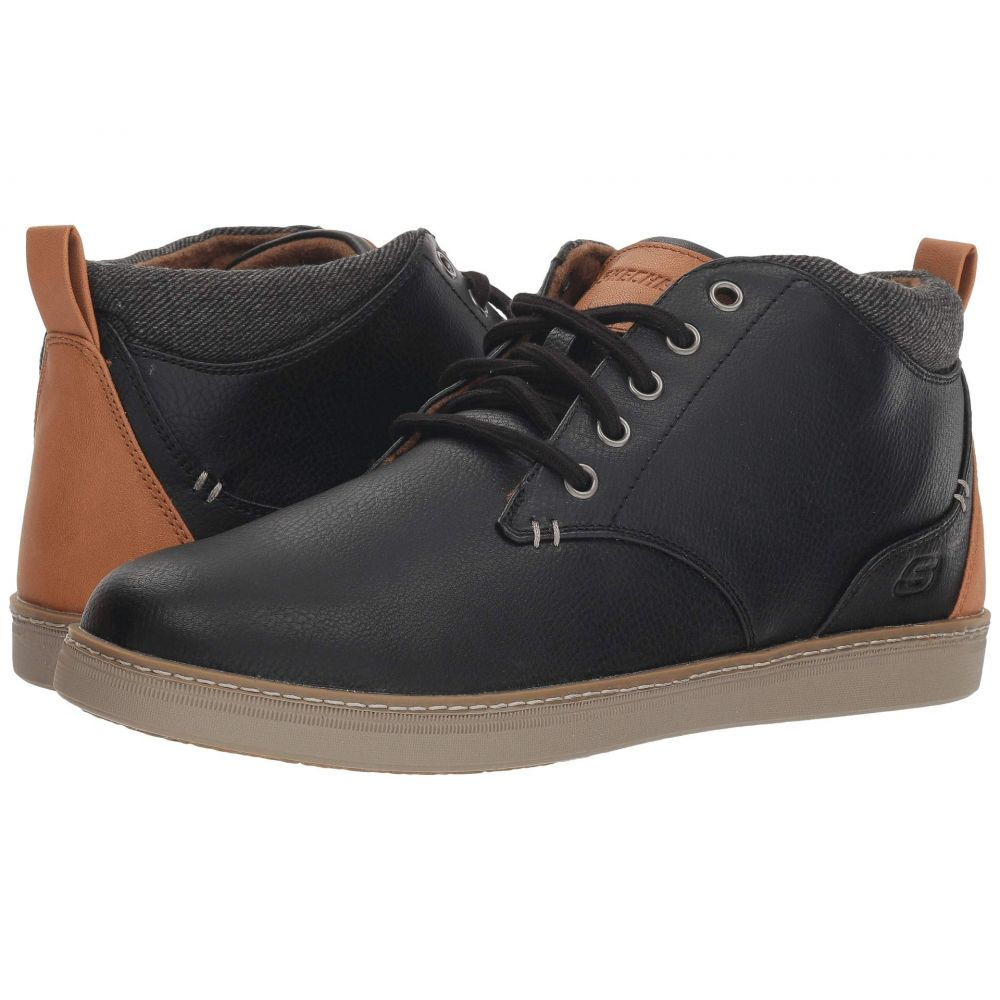 スケッチャーズ SKECHERS メンズ ブーツ シューズ・靴【Classic Fit Helmer】Black