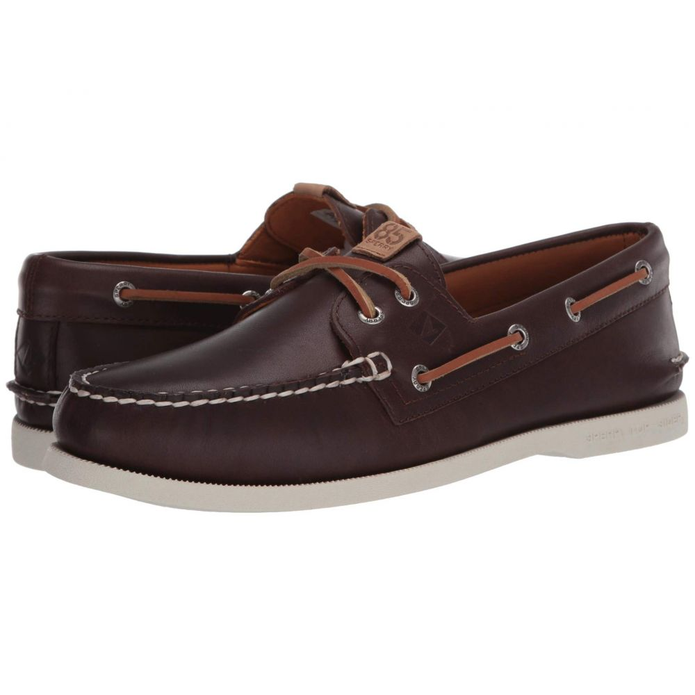 スペリー Sperry メンズ デッキシューズ シューズ・靴【Authentic Original 2-Eye 85th Anniversary】Brown/White