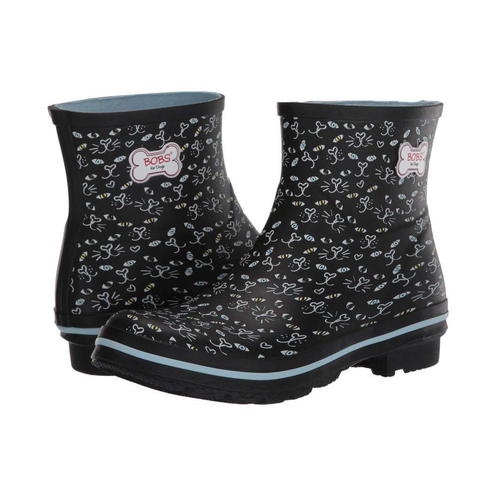 スケッチャーズ レディース シューズ・靴 レインシューズ・長靴 Black 【サイズ交換無料】 スケッチャーズ BOBS from SKECHERS レディース レインシューズ・長靴 シューズ・靴【Rain Check】Black