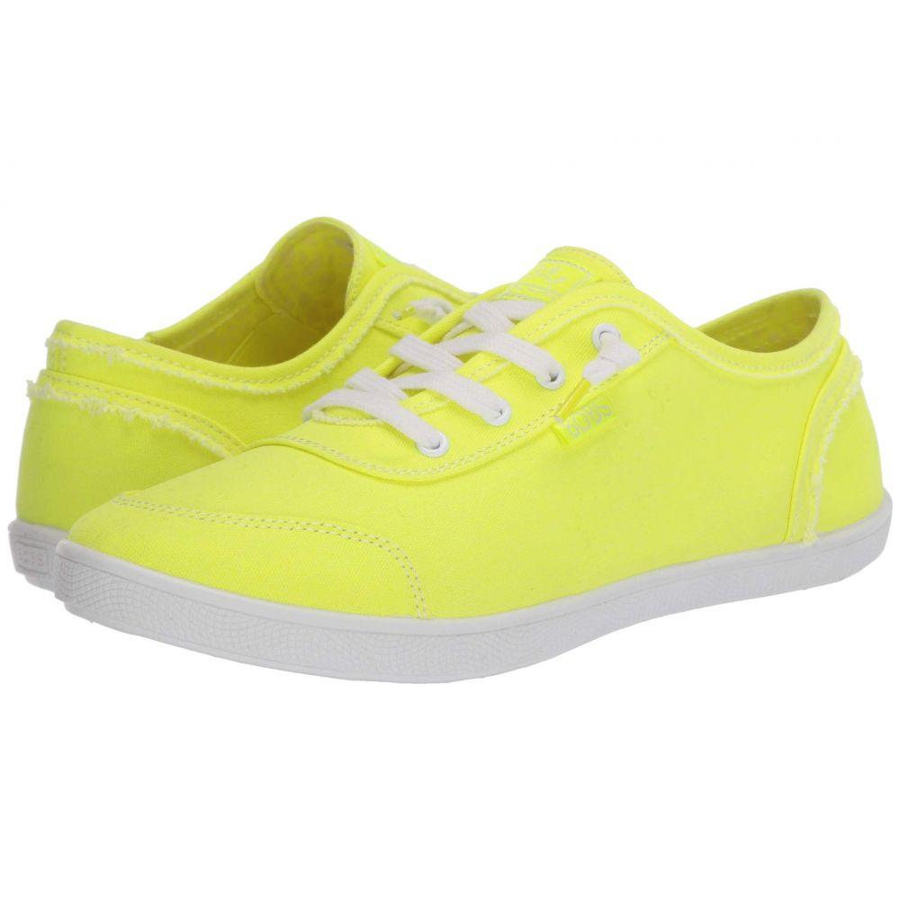 スケッチャーズ BOBS from SKECHERS レディース スニーカー シューズ・靴【Bobs B Cute】Neon Yellow