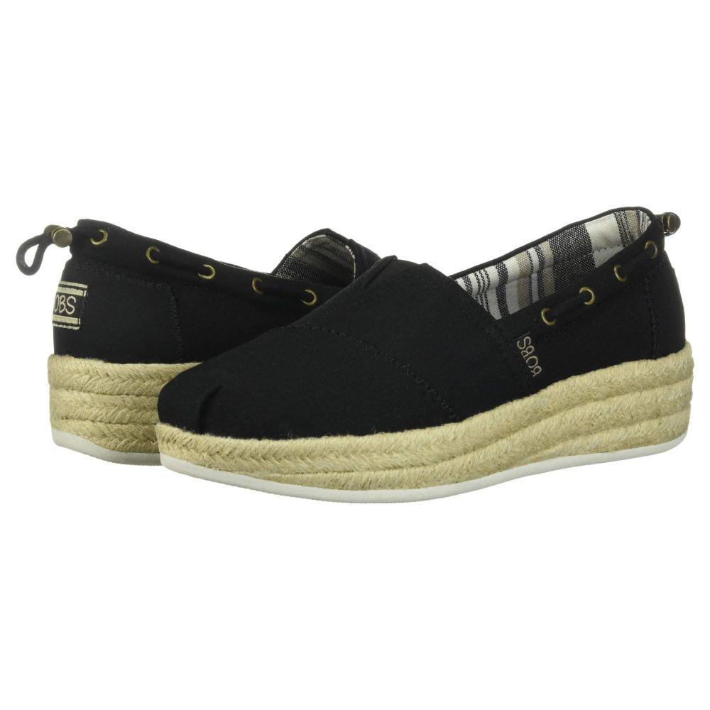 スケッチャーズ BOBS from SKECHERS レディース ローファー・オックスフォード シューズ・靴【Highlights 2.0 - Yacht Master】Black