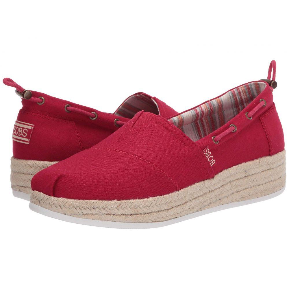 スケッチャーズ BOBS from SKECHERS レディース ローファー・オックスフォード シューズ・靴【Highlights 2.0 - Yacht Master】Red