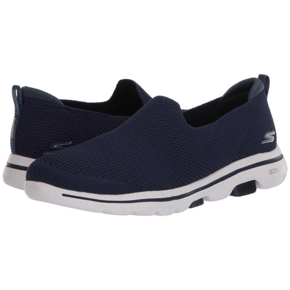 スケッチャーズ SKECHERS Performance レディース スニーカー シューズ・靴【Go Walk 5 - Spontane】Navy/White