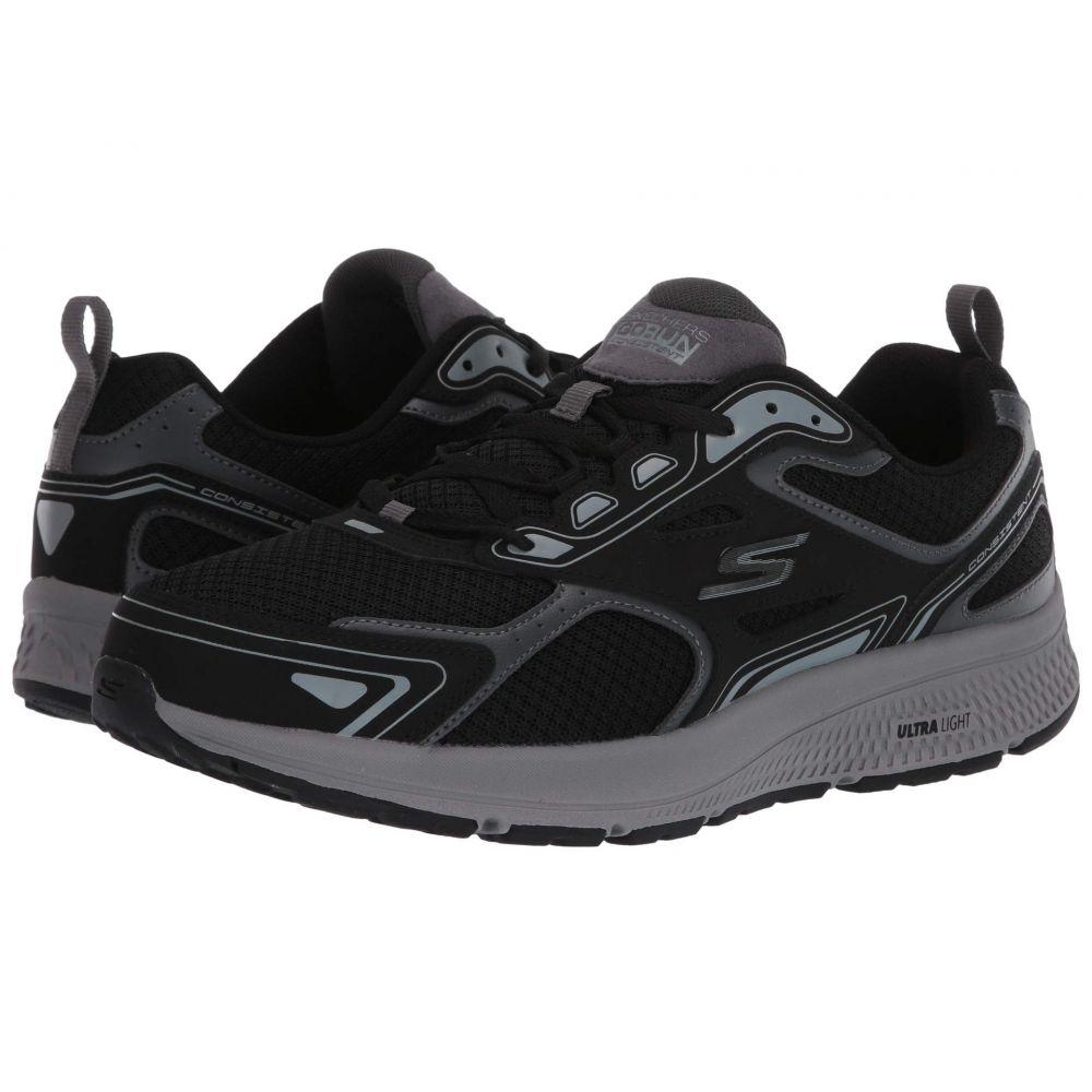 スケッチャーズ SKECHERS メンズ ランニング・ウォーキング シューズ・靴【Go Run Consistent】Black/Grey