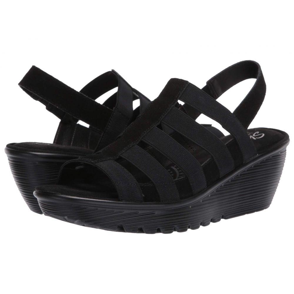 スケッチャーズ SKECHERS レディース サンダル・ミュール シューズ・靴【Parallel】Black/Black