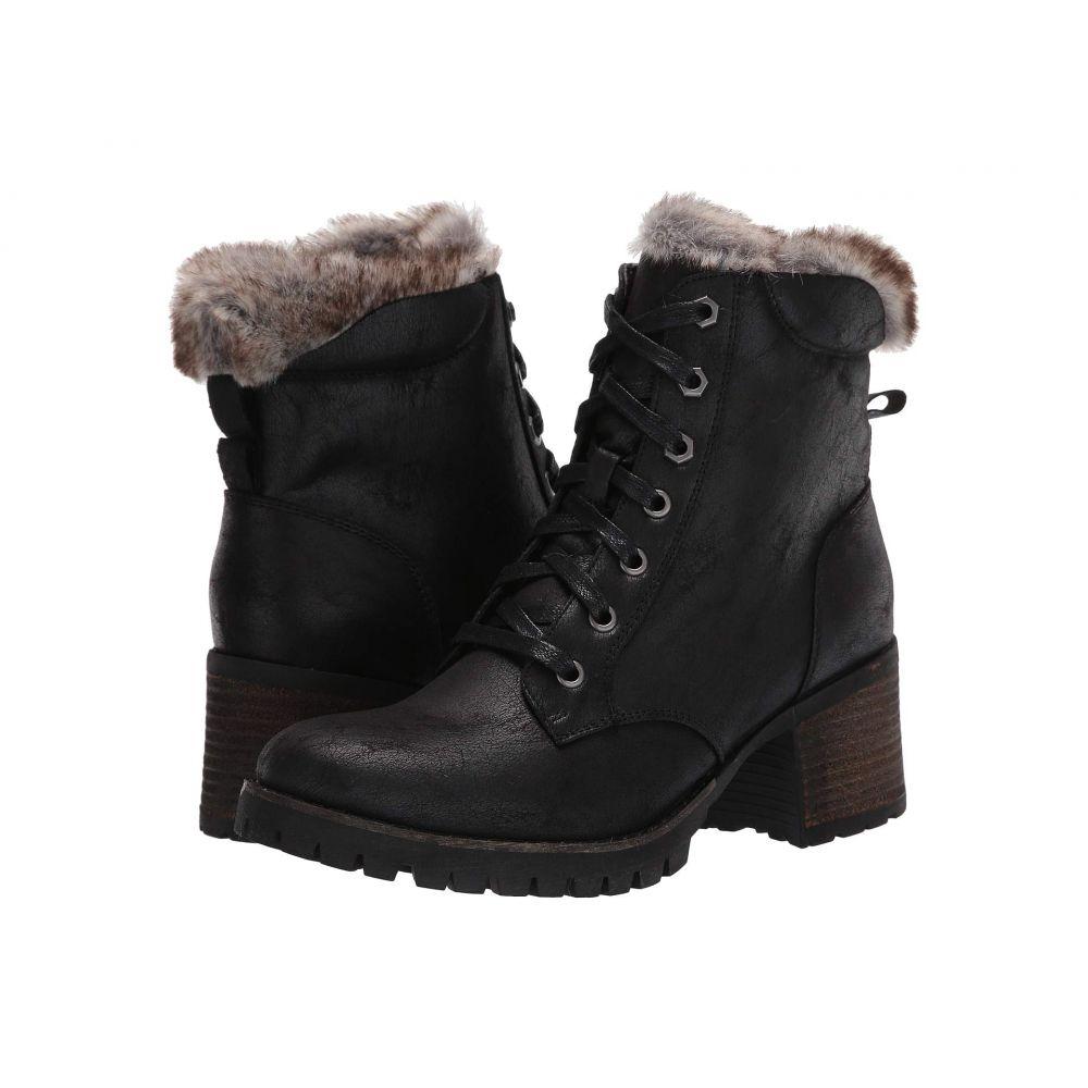 スティーブ マデン Steve Madden レディース ブーツ シューズ・靴【Comfort Winter Bootie】Black/Black