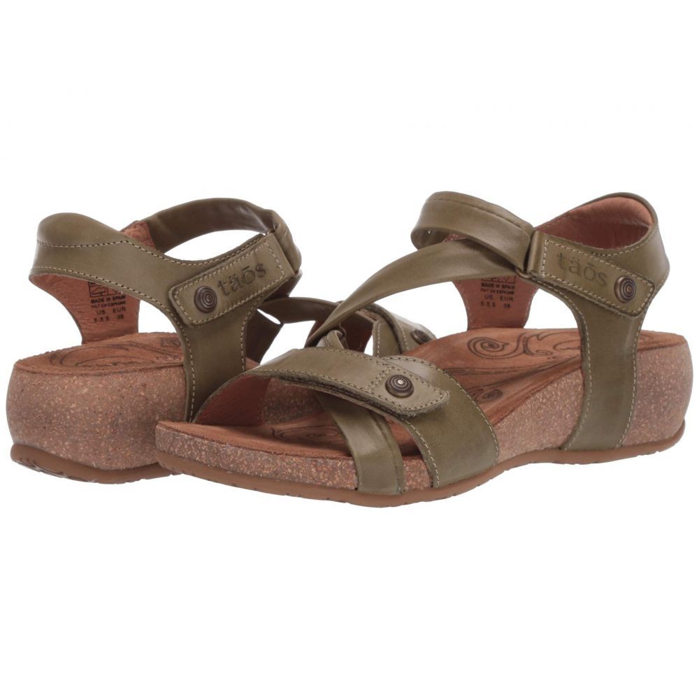 タオス Taos Footwear レディース サンダル・ミュール シューズ・靴【Universe】Herb Green
